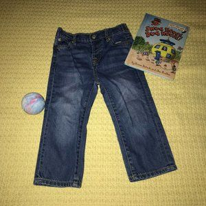 7 For All Mankind Navy Jeans Kid Sz 24M